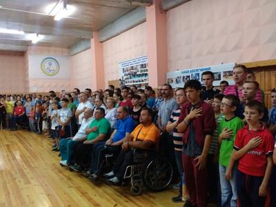 10-11 вересня 2016 року м. Рівне ХХІ спортивні ігри інвалідів Рівненщини, присвячені Дню фізичної культури і спорту